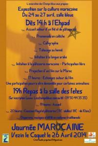 Verso Silhouette Journée marocaine 2